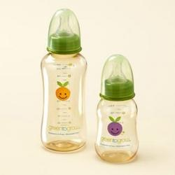 Green To Grow 2 Baby Bottle 10oz regular neck