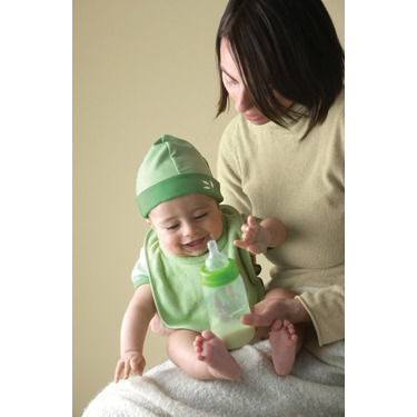 Green Sprouts Eco-friendly  8 oz Wide Neck Feeding Bottle