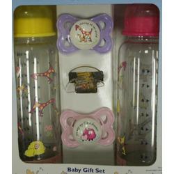 Sassy MAM Real Love John Lennon Baby Gift Set - girl colors