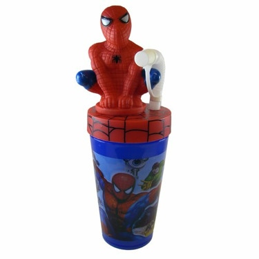 Spiderman Sipping Cup - Marvel Spiderman Travel Tumbler