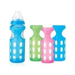 Munchkin Silicone Bottle Sleeve - 8oz.