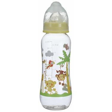 Fisher-Price Rainforest Feeding Bottle, Monkey, 8 Ounce