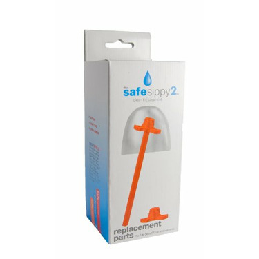 The Safe Sippy 2 Replacement Parts Pack by Kid basix
