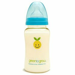 Green to Grow 10 oz. Wide Neck Bottle- BPA Free