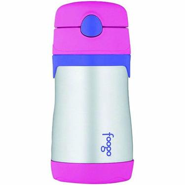 Thermos 10 Oz. Foogo Straw Bottle - Pink