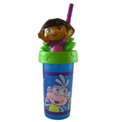 Dora The Explorer Sipping Cup - Nickelodeon Dora The Explorer Travel Tumbler