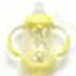 Nuby 3 Stage Grow Nurser with Silicone Nipple- 7 oz - boy colors
