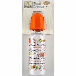 9 oz. Halloween Baby Bottle - Printed with Latex Nipple