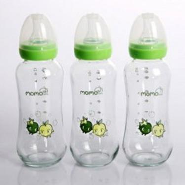 Momo Baby 8oz 1-Pack Glass Baby Bottles