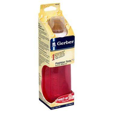 Gerber Baby Bottle Plastic Pastel - 9 Oz