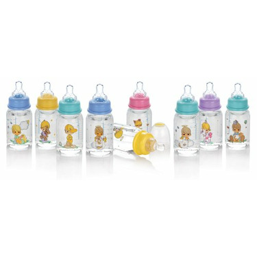 Nuby Printed Bottle, 4 Ounce
