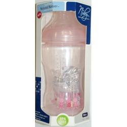 Nuby BPA FREE Natural Nurser SoftFlex 10 oz bottle - girl colors