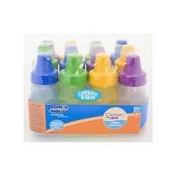 Evenflo BPA Free 12-Pack Tint Bottle 4 oz.