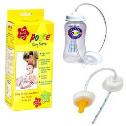 Podee Baby Bottle - Handsfree Feeding System + Podee: Convert-A-Bottle Handsfree Feeding Kit
