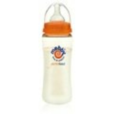 Mebby GentleFeed Glass Bottle   260 ml (9 oz)