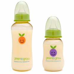 Green to Grow 5 oz. Regular Neck BPA-Free Baby Bottle