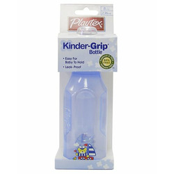Playtex Baby Kinder-Grip Bottle 8 OZ: Blue