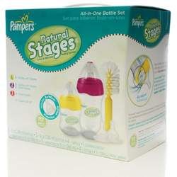 Pampers All In One Bottle Set