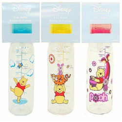 Winnie The Pooh 3 Pack / 9 Oz. Baby Feeding Bottles