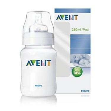 Avent 9oz PES Bottle w/SlowFlow Nipple (BPA Free)