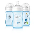 Avent 9oz PES Bottle w/SlowFlow Nipple (BPA Free)