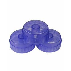 Playtex Baby Drop-Ins Original Nurser Replacement Caps: 3-Pack Dark Blue