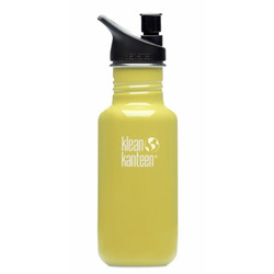 Klean Kanteen Classic Bottle (Sport Cap) 18oz. - Green Energy
