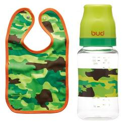 BUD Trooper Baby Bib Bottle