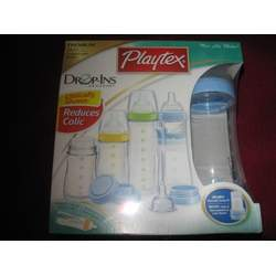 Playtex Premium Nurser Newborn Boy's Gift Set w/Eazy Feed Bottle