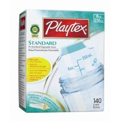 Playtex BPA Free Disposable Nurser Liners 8 oz - 140 Count