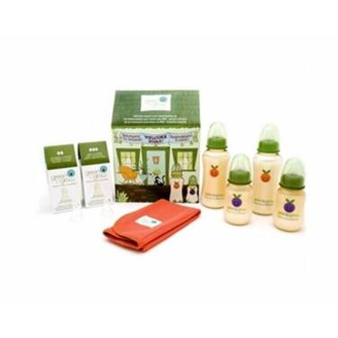 BPA Free Baby Bottles - Green to Grow Welcome Home Set (Regular)