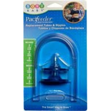 Pacifeeder Replacement Tubes/Nipples Blue