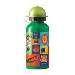 Crocodile Creek Jungle Jive Stainless Steel Kids Bottle