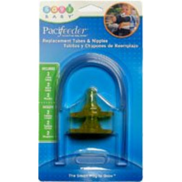 Replacement Tubes & Nipples for Pacifeeder Hands Free Bottle Yellow