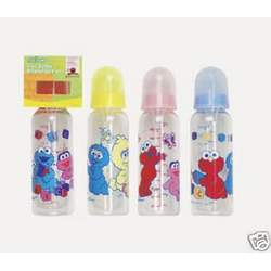 Sesame Street 9 oz Baby Bottle - Yellow