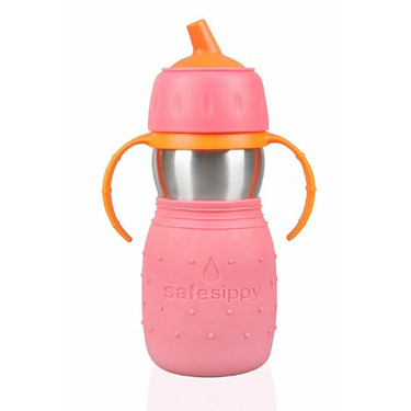 The Safe Sippy Blue
