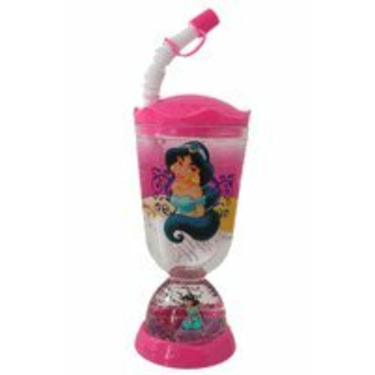 Disney Princess Jasmine Bottle: Sipping Bottle with Snowglobe