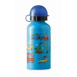 Crocodile Creek Vehicles Stainless Steel Child Bottle