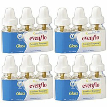 Evenflo Classic 4 oz. Glass Nurser - 12-Pack