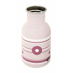 CuteSip Stainless Steel Baby Bottle - Pink Rose