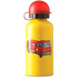 Crocodile Creek Firetruck Stainless Steel Child Bottle