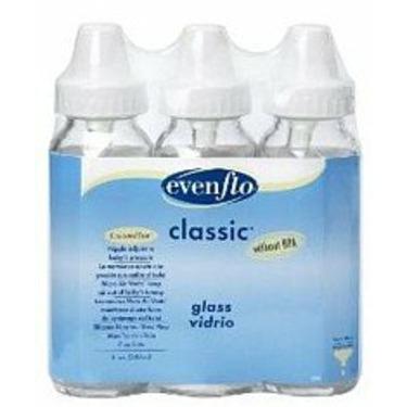 CLASSIC GLASS NURSER EVENFLO Size: 3X8 OZ
