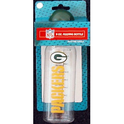 Green Bay Packers 9 Ounce Baby Bottle