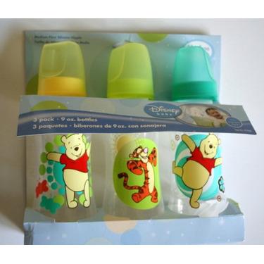 Winnie the Pooh & Tigger 3 Pack (9 oz.) Baby Bottle Set