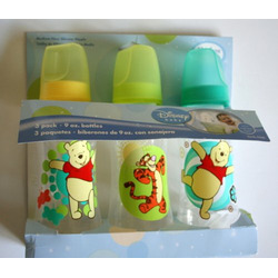 Winnie the Pooh & Tigger 3 Pack (9 oz.) Baby Bottle Set