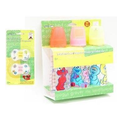 Sesame Street 3-pack Bottle Set