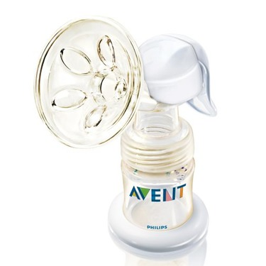 Philips AVENT ISIS Manual Breast Pump, White