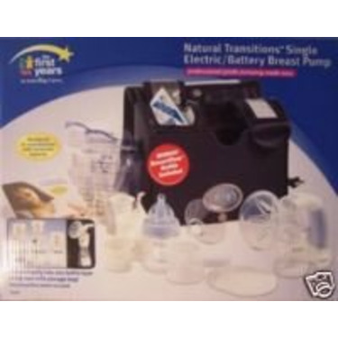 The First Years Natural Transitions Single Electric/Battery Breast Pump Y4478A1