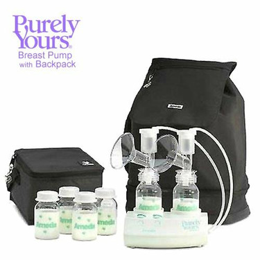 Ameda Purely Yours Breast Pump with Backpack
