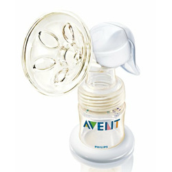 Philips AVENT ISIS Manual On the Go Breast Pump, White